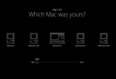 Las diferentes Macintosh a lo largo de 30 años.
