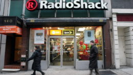 FILE - SEPTEMBER 11: According to September 11, 2014, electronics retailer RadioShack said it may have to file for Chapter 11 bankruptcy. NEW YORK - FEBRUARY 26:  A Radio Shack store is seen February 26, 2008 in New York City. Radio Shack posted a 19.5% fourth-quarter profit increase beating Wall Street estimates.  (Photo by Mario Tama/Getty Images)